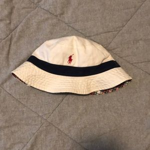 Ralph Lauren Polo Reversible Bucket Hat